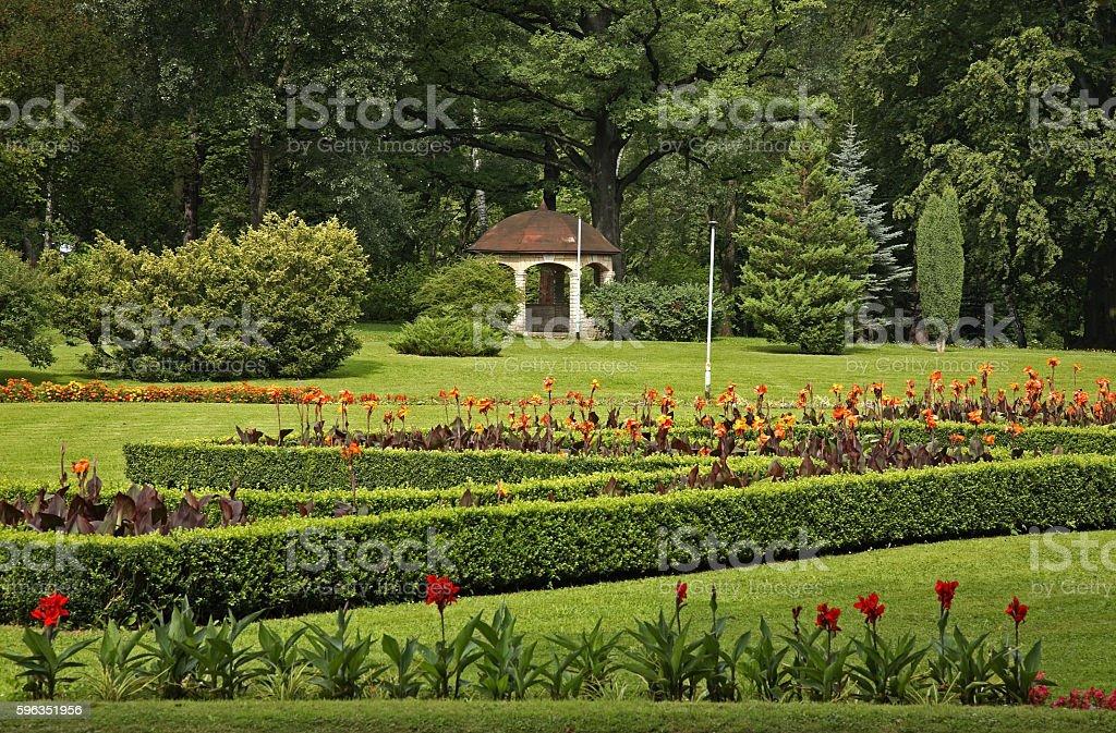 Health Park in Kudowa-Zdroj. Poland royalty-free stock photo