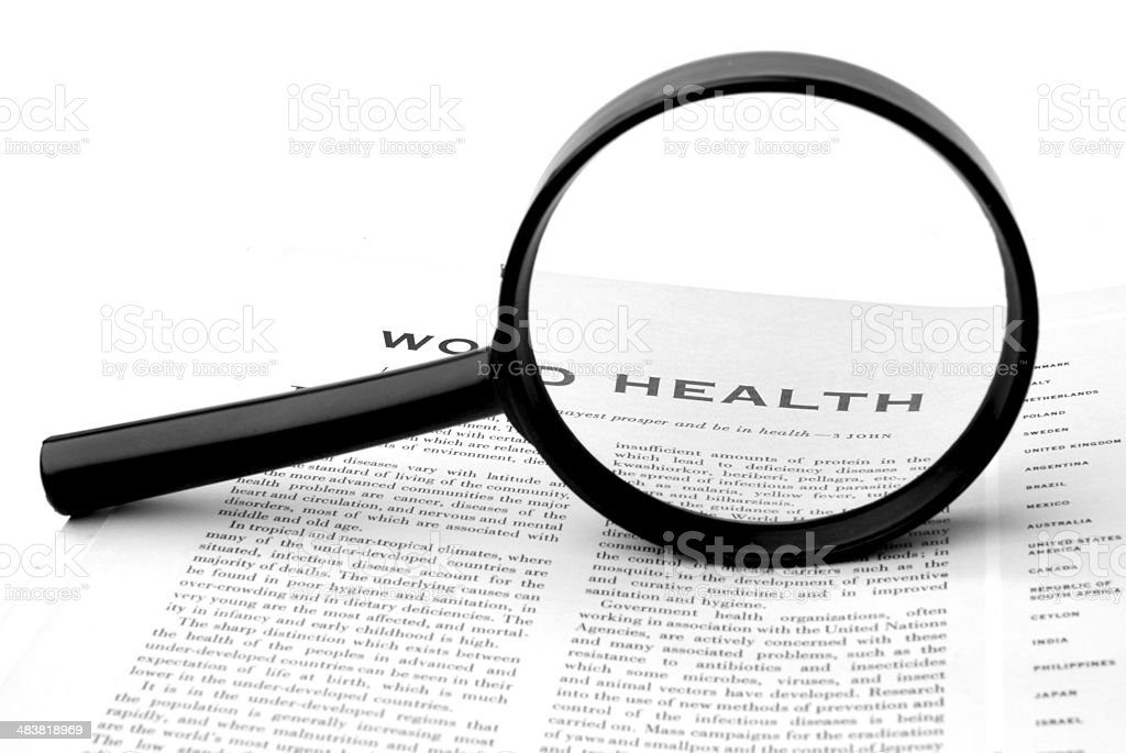 Health Report royalty-free stock photo