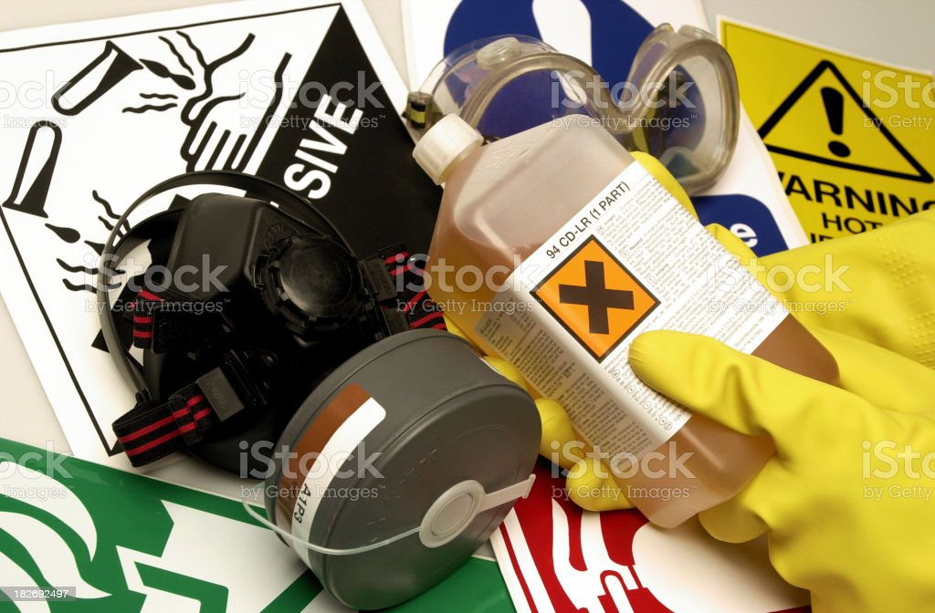 Health & Safety stock photo