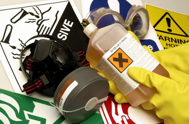 health & safety - chemical stock photos and pictures