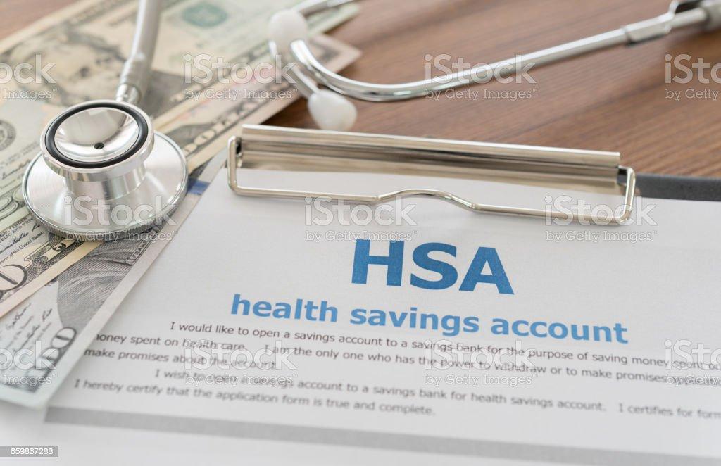 health savings account - foto de stock