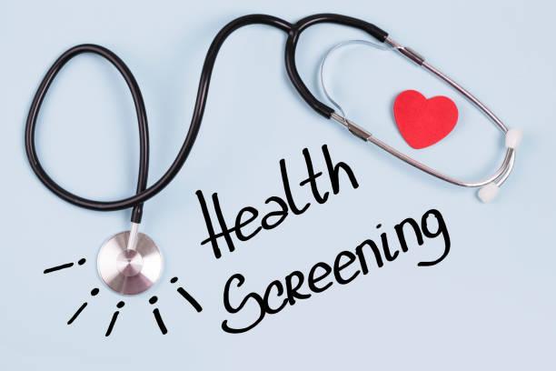 gezondheid screening - sneakpreview stockfoto's en -beelden