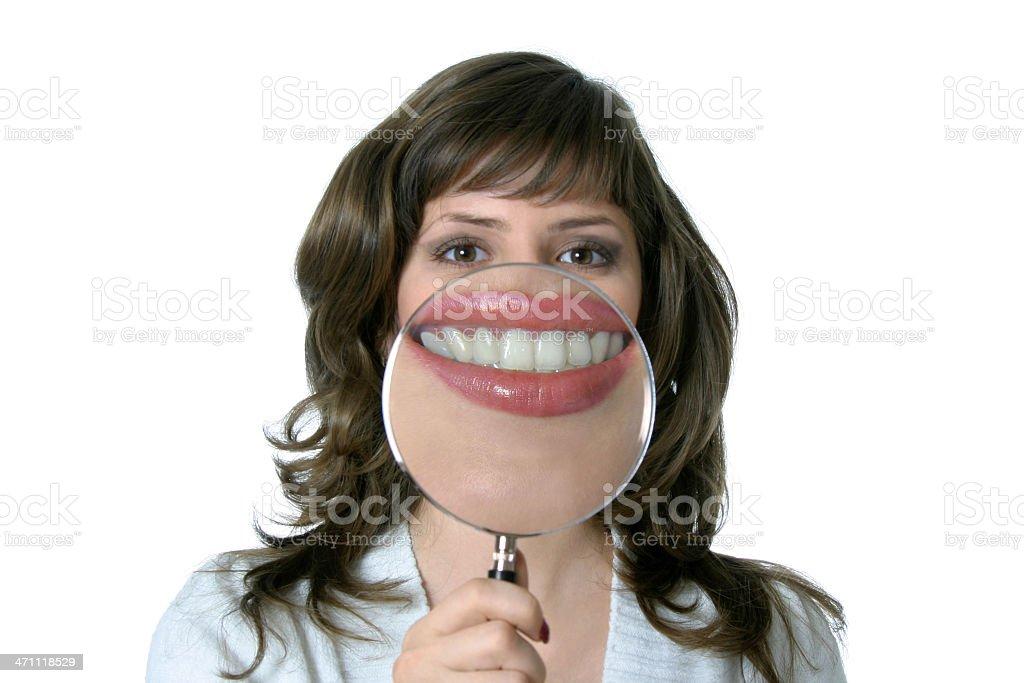 Health smile royalty-free stock photo