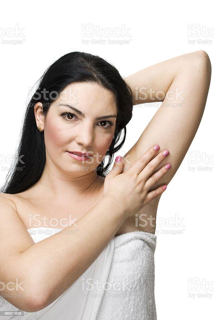 Health woman skin royalty-free stock photo