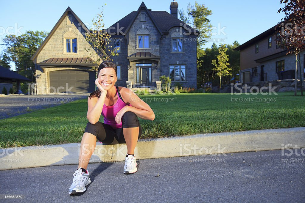 Health Woman - Sport Great Looking royalty-free stock photo