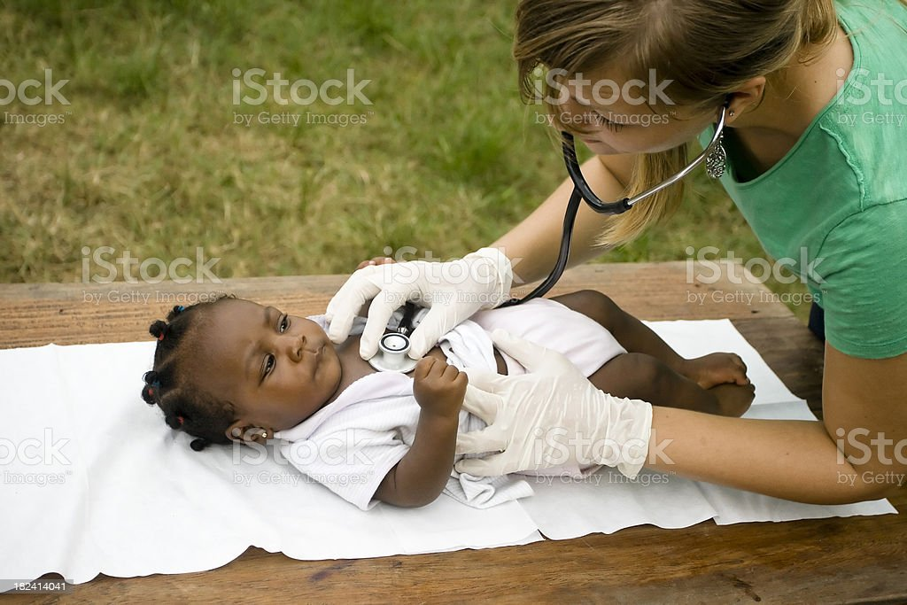 Health Worker royalty-free stock photo