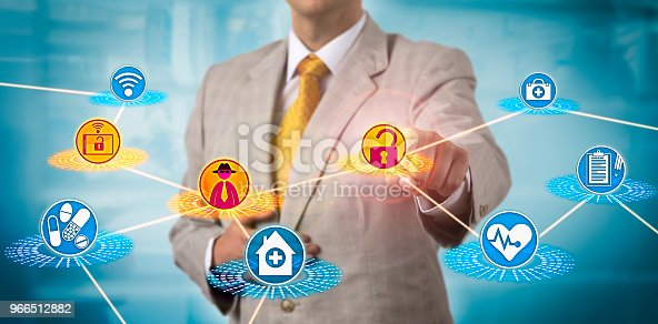 istock Healthcare Administrator Subjected To Cybercrime 966512882