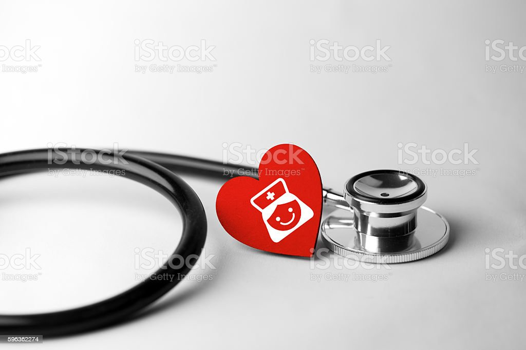 healthcare and medical concept, close up of stethoscope royalty-free stock photo
