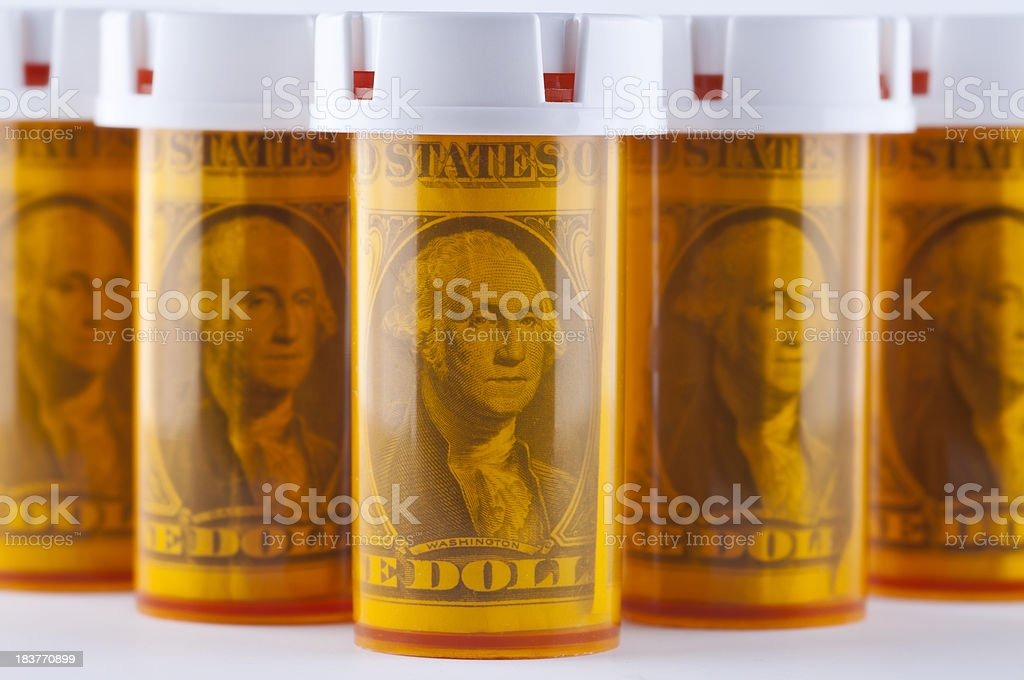 Healthcare Budget royalty-free stock photo