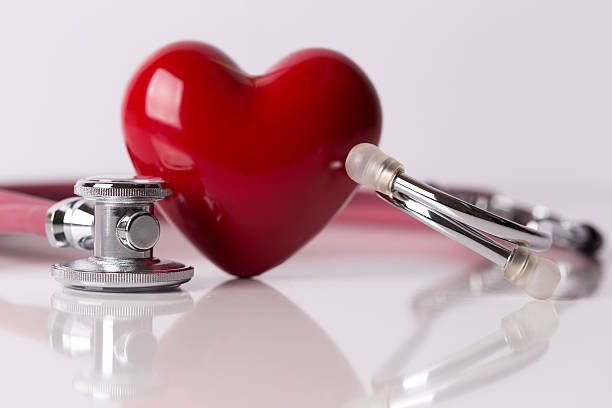 healthcare concept: heart care - heart shape stock photos and pictures