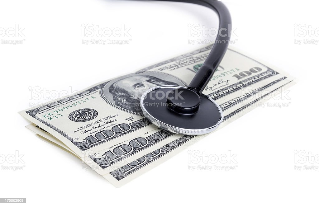 Healthcare Cost royalty-free stock photo
