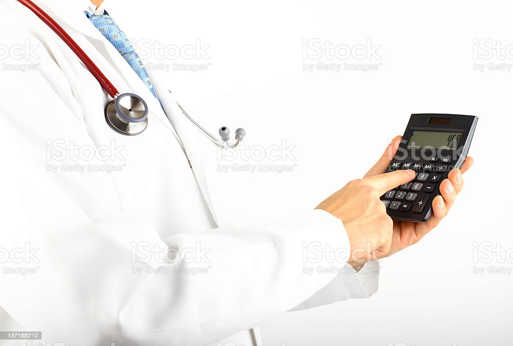 Healthcare Costs royalty-free stock photo