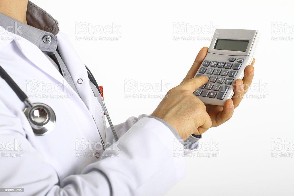 Healthcare finance royalty-free stock photo