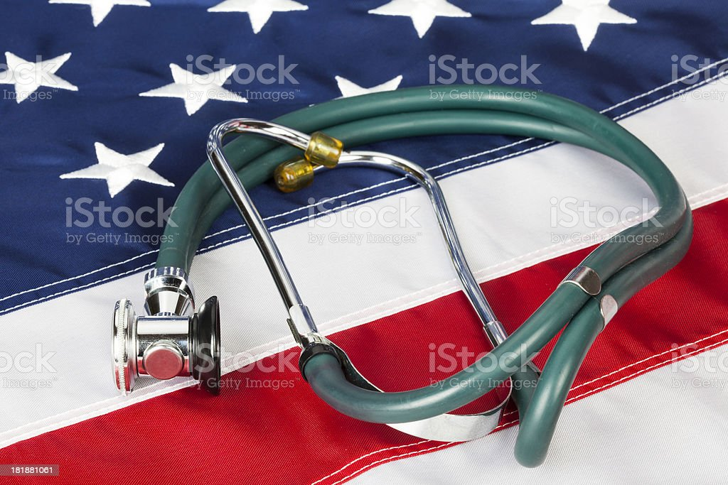 Healthcare in USA royalty-free stock photo