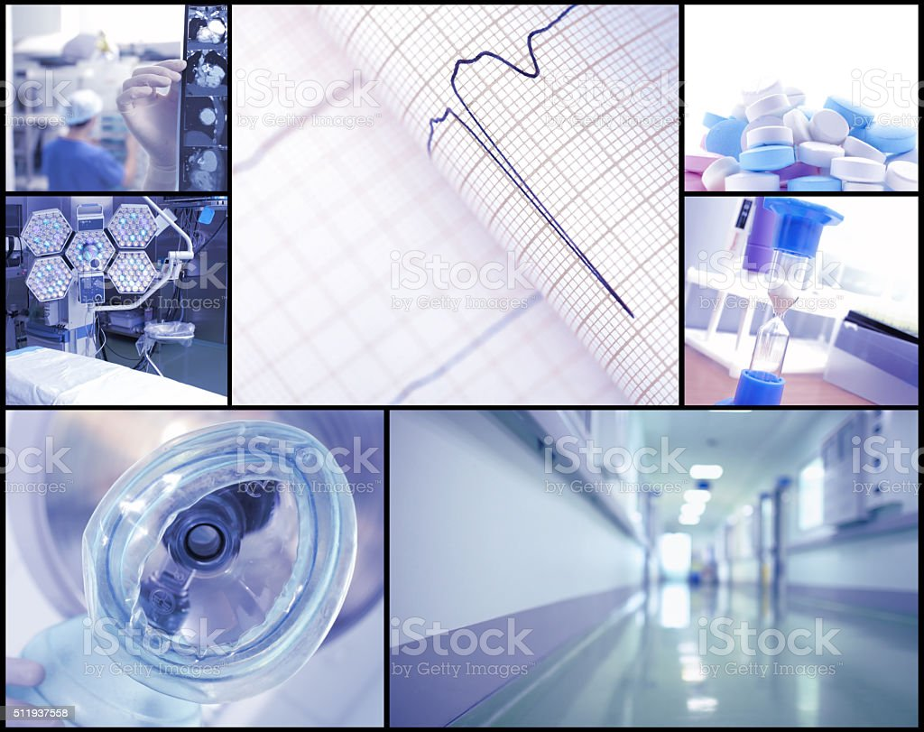 Healthcare photoset stock photo
