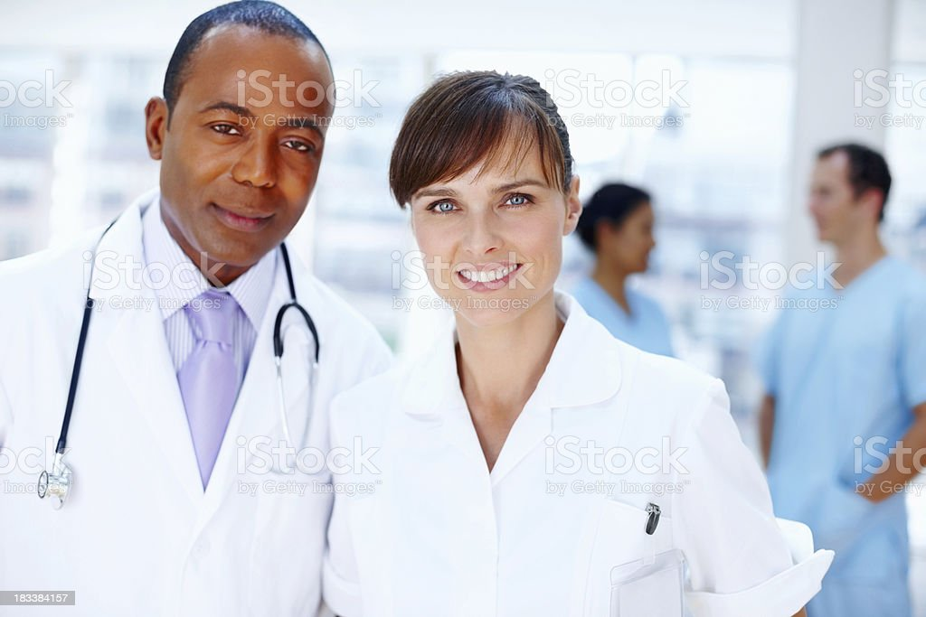 Healthcare professionals royalty-free stock photo