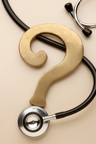 Healthcare Questions Stock Photo - Download Image Now