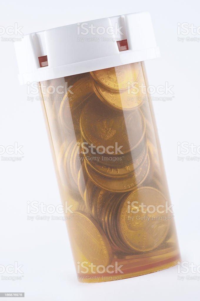 Healthcare Spending royalty-free stock photo