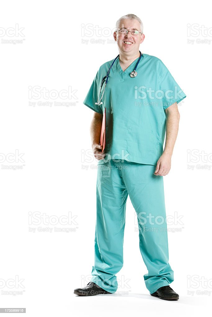 healthcare: surgeon royalty-free stock photo