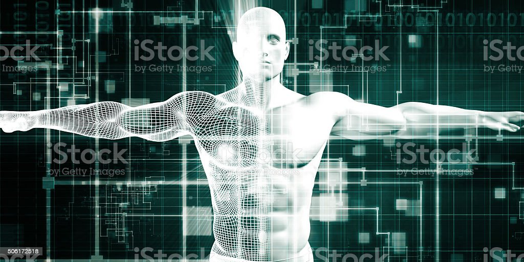 Healthcare Technology royalty-free stock photo
