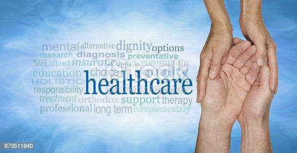 istock Healthcare Word Cloud 673511640