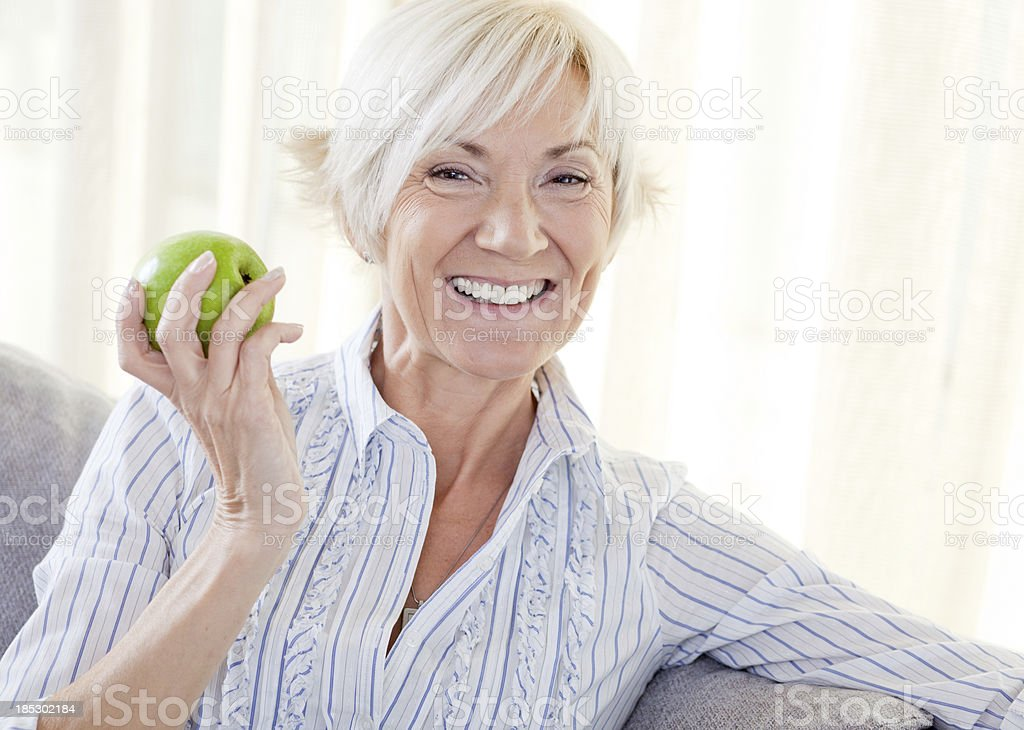 Healthy Age royalty-free stock photo