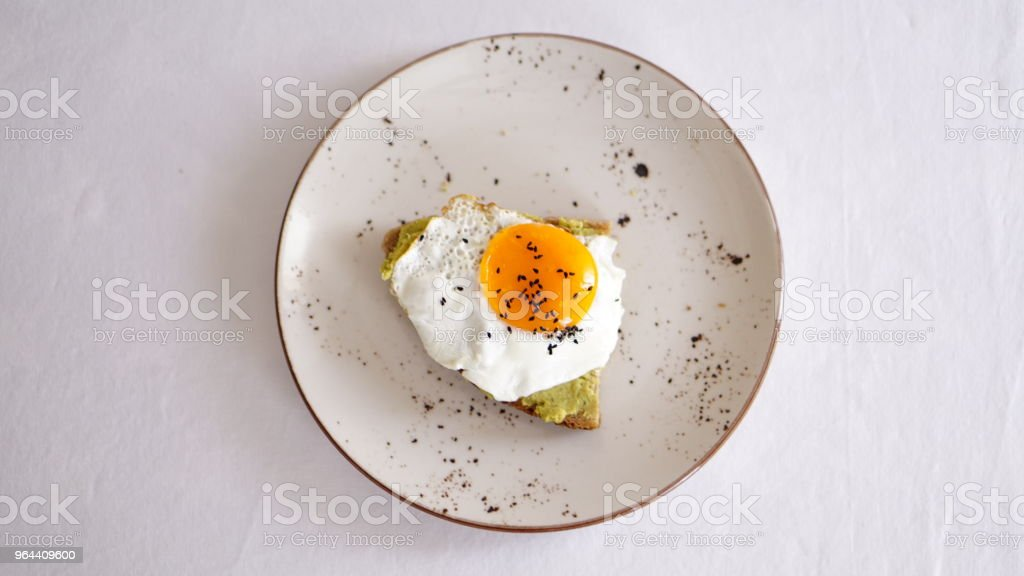 healthy and fresh toasts - Royalty-free Appetizer Stock Photo