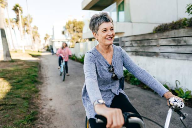 Gesunde und glückliche Retirment – Foto