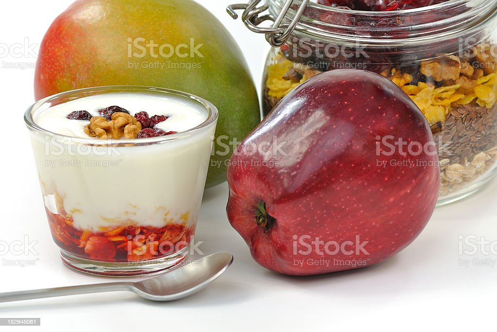healthy and nutritious breakfast royalty-free stock photo