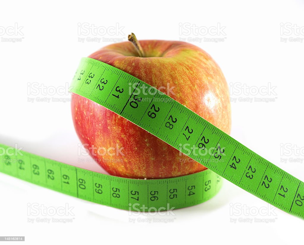 Healthy apple royalty-free stock photo
