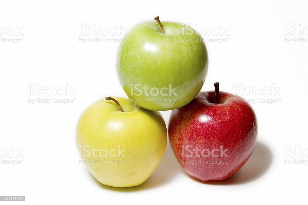 Healthy Apples royalty-free stock photo