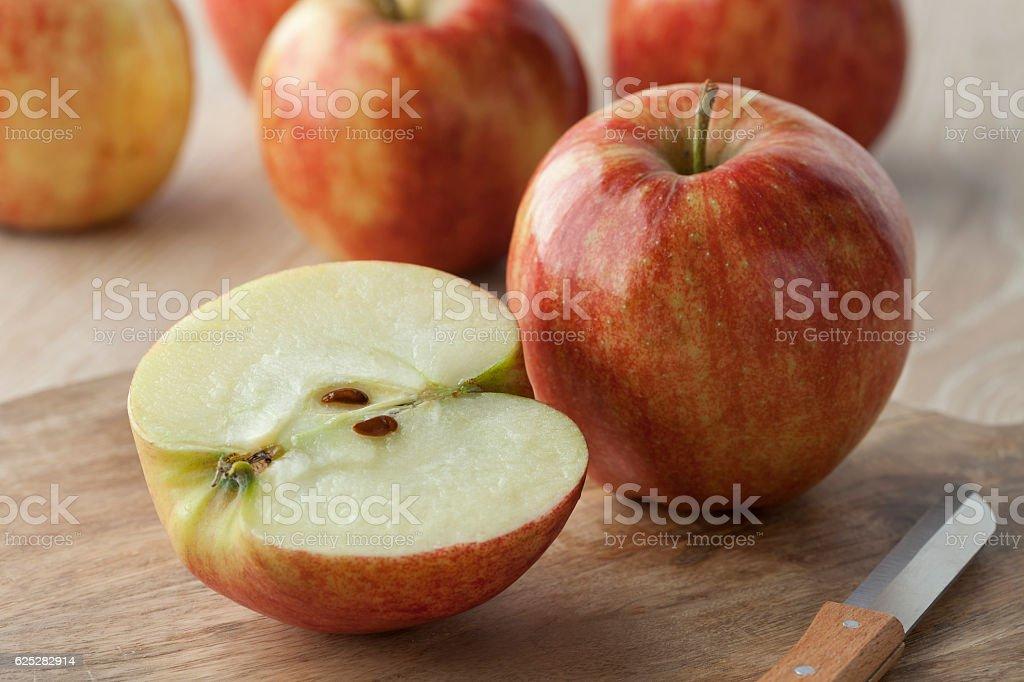 Healthy apples stock photo