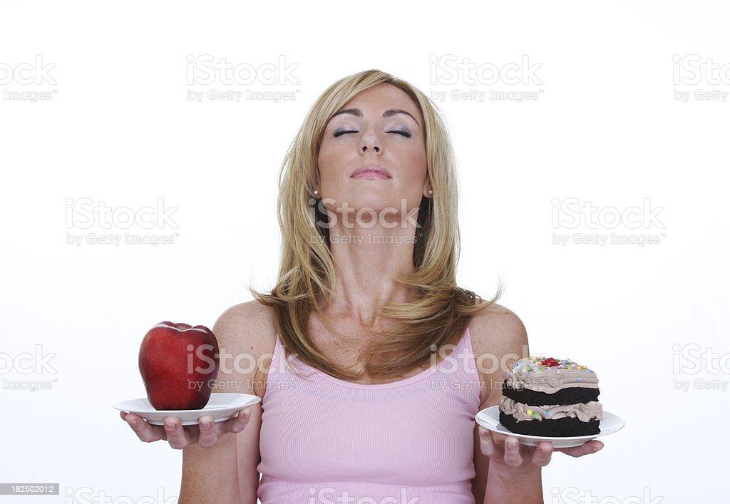 healthy balance stock photo