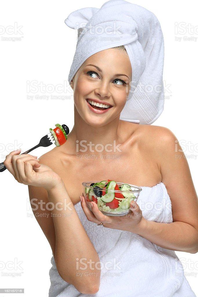 Healthy beauty royalty-free stock photo