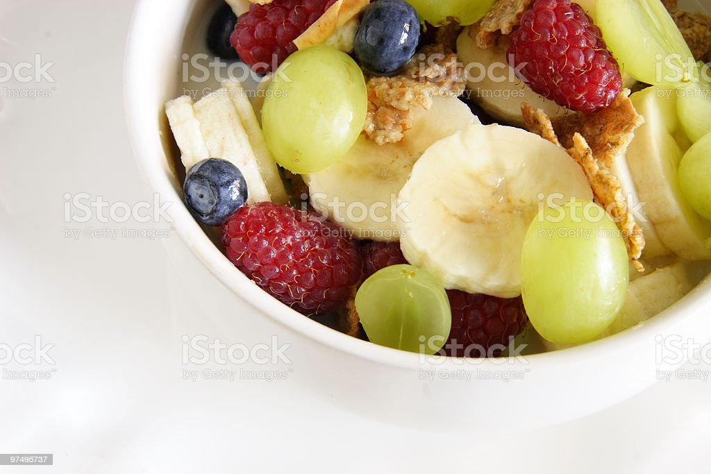 healthy bowl of breakfast royalty-free stock photo
