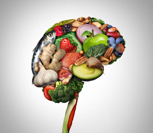 Healthy Brain Food stock photo