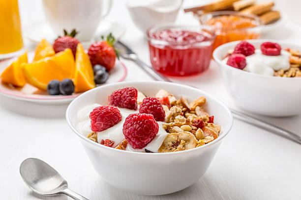 Healthy Breakfast Meal stock photo