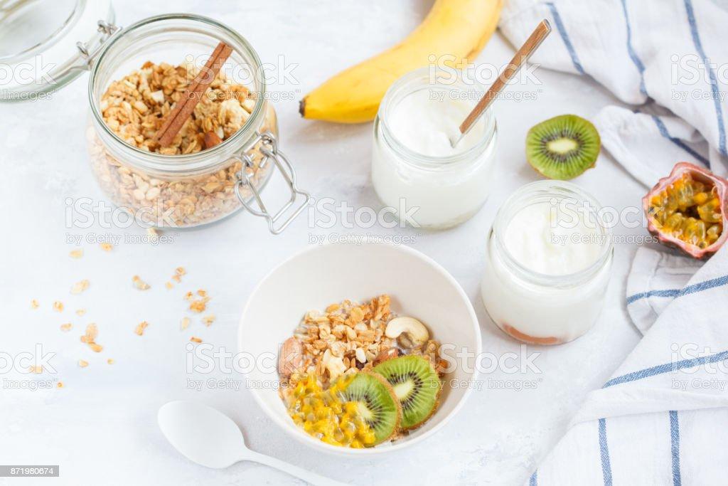 Hausgemachte Frühstückskarte zum Abnehmen