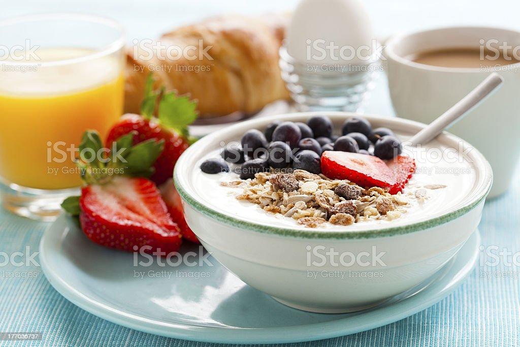Desayuno saludable - Foto de stock de Alimento libre de derechos