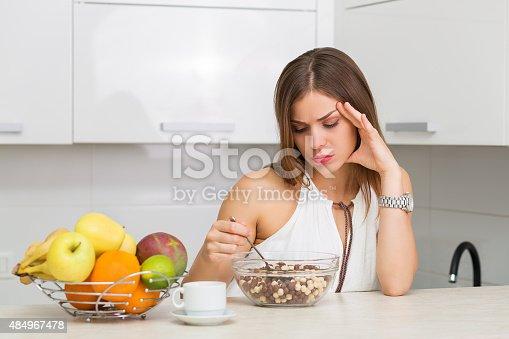 istock Healthy breakfast 484967478