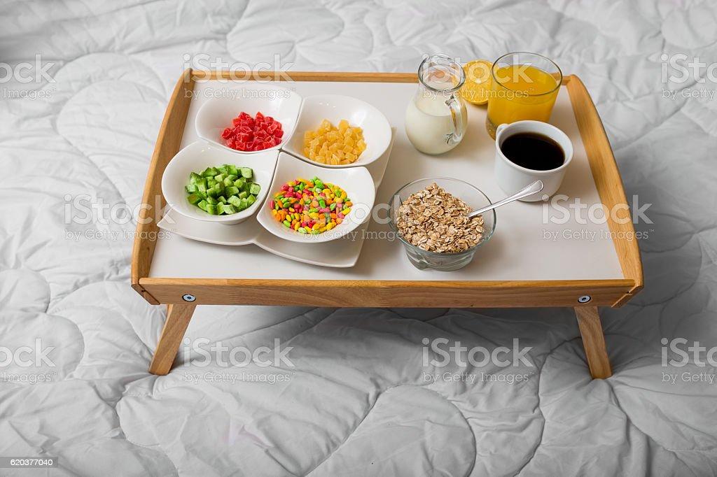 Saudável pequeno-almoço foto de stock royalty-free