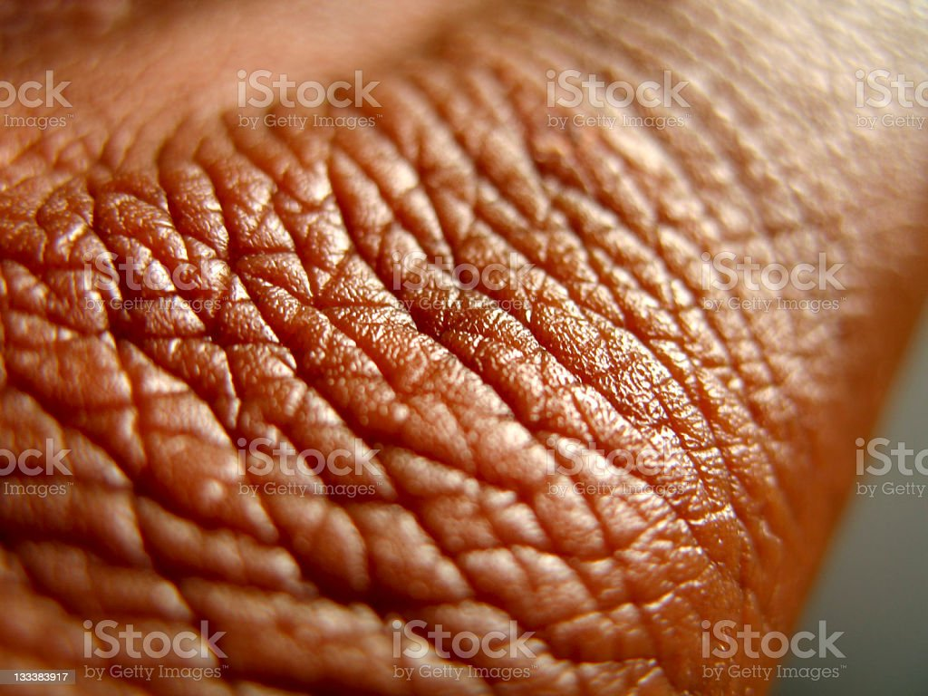 healthy brown skin close up royalty-free stock photo