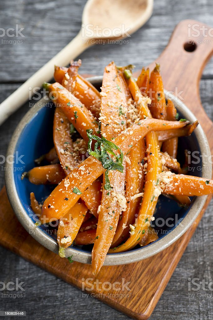 Healthy Carrot Dish royalty-free stock photo
