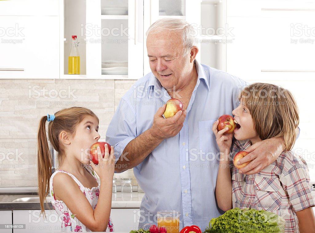 Healthy Childhood Nutrition royalty-free stock photo