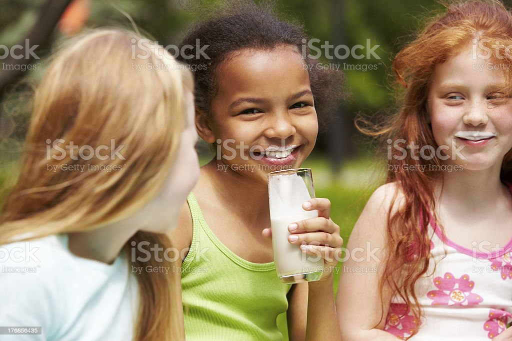 Healthy children royalty-free stock photo