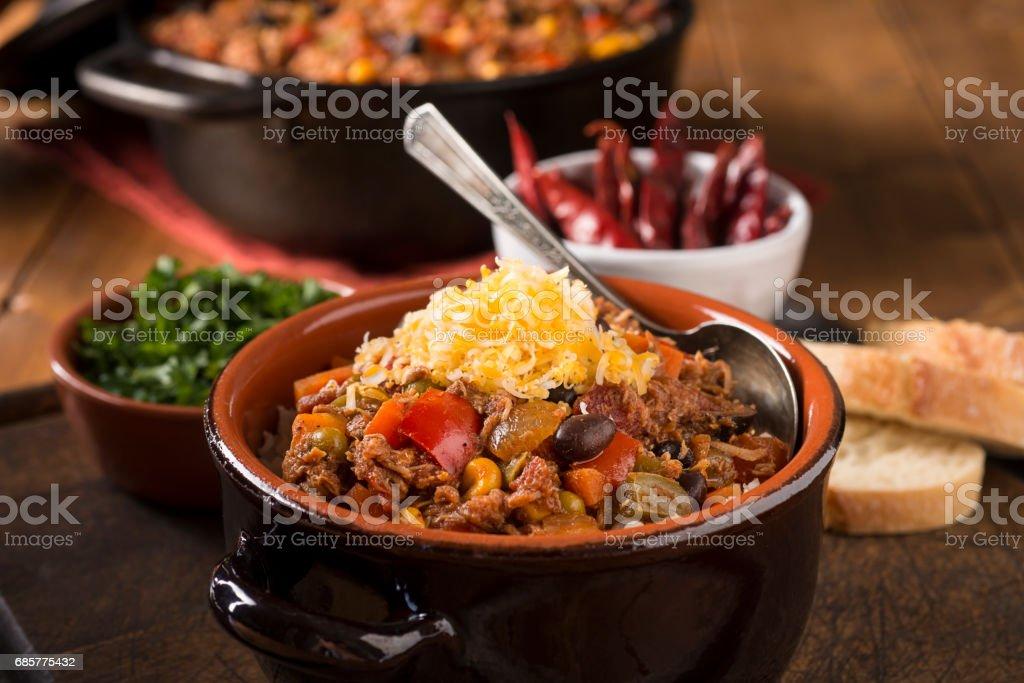 Healthy Chili stock photo