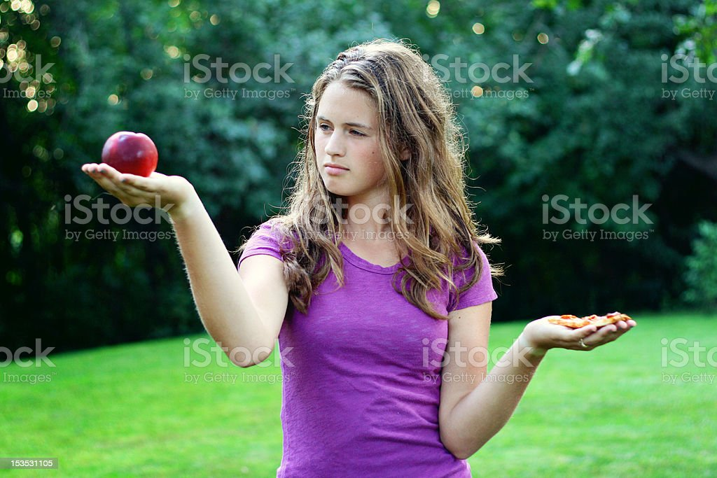 Healthy Choices royalty-free stock photo