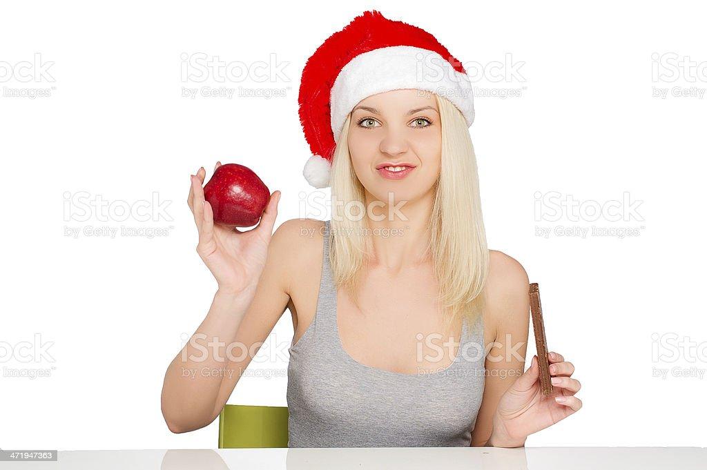 Navidad mujeres sanas - Foto de stock de Adulto libre de derechos
