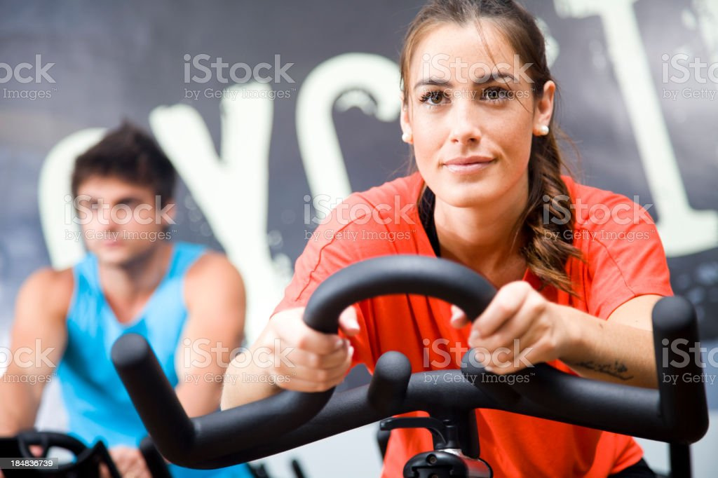 Healthy Club royalty-free stock photo