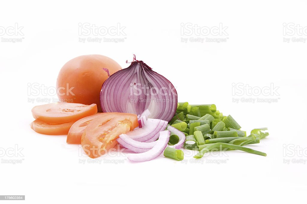 Healthy cooking stock photo